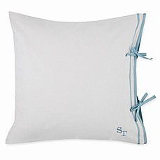 image of Southern Tide® Sea Breeze European Pillow Sham in White