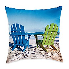 image of Adirondack Duo Square Throw Pillow
