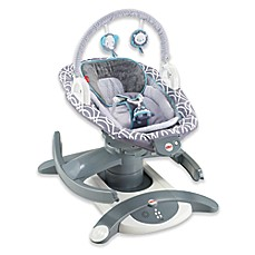 image of Fisher-Price® 4-in-1 Rock n' Glide™ Soother in Grey