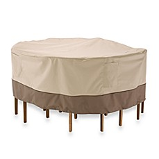 image of Classic Accessories® Veranda Round Table and Chair Set Cover