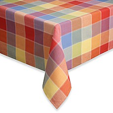 image of Summer Check Tablecloth