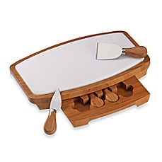 image of B. Smith Marble Cheeseboard Set