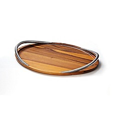 image of Nambe® Braid Serving Tray