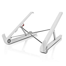 image of Aluratek Universal Foldable Laptop & Tablet Stand in White