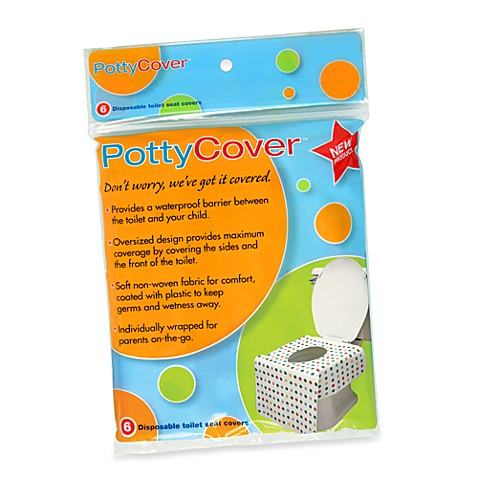PottyCover 6 Pack Disposable Toilet Seat Covers Bed Bath Beyond