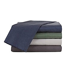 image of IZOD® Relaxed Classic Chambray Sheet Set