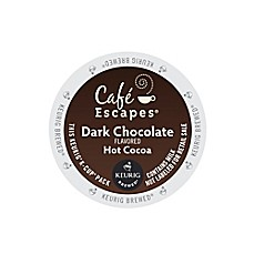 image of Keurig® K-Cup® Pack 16-Count Cafe Escapes® Dark Chocolate Hot Cocoa