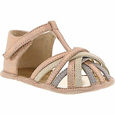 image of Kenneth Cole Reaction Baby Wisp Flat Shoe in Rose Gold