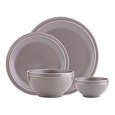 Godinger Culinara 16-Piece Dinnerware Set in Grey  sc 1 st  Bed Bath \u0026 Beyond & Clearance Dining Sets | Discount Dinnerware | Bed Bath \u0026 Beyond