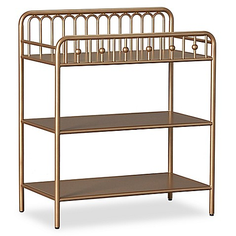 Little Seeds Monarch Hill Ivy Metal Changing Table In Gold