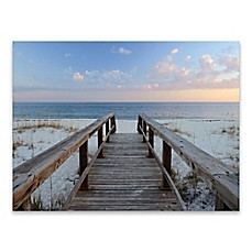 Image Of Artissimo Designs™ Pensacola Sunset 40 Inch X 30 Inch Canvas Wall