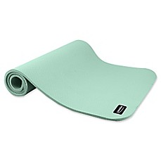 image of Empower® Waffle Pattern Deluxe Fitness Mat with Carry Strap