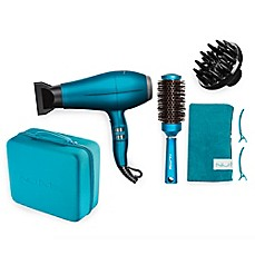 image of NuMe® 8-Piece Blowout Boutique Hair Styling Set in Turquoise