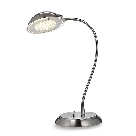 Studio 3Bu0026trade; LED Desk Lamp In Brushed Steel