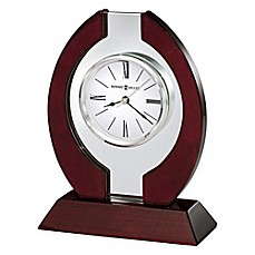 Howard Miller Clarion Tabletop Clock In Rosewood Hall