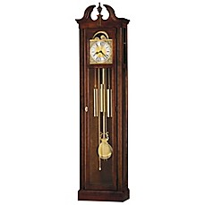 image of Howard Miller Chateau Floor Clock in Windsor Cherry