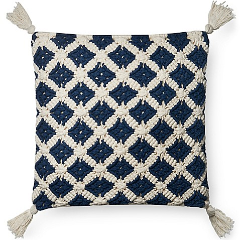 Magnolia Home Viola Square Throw Pillow Bed Bath Amp Beyond