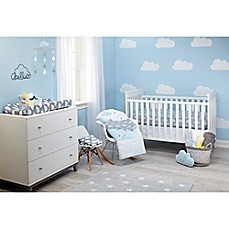 image of Little Love by NoJo® Happy Little Clouds Crib Bedding Collection