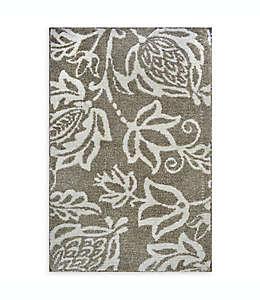 Tapete decorativo Cambridge de microfibra de 50.8 x 81.28 cm en café trigo