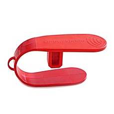 image of UnbuckleMe Car Seat Buckle Release Tool in Strawberry