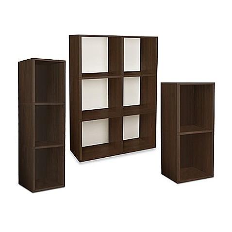 Way Basics Tool Free Assembly Bookcase And Storage Shelf