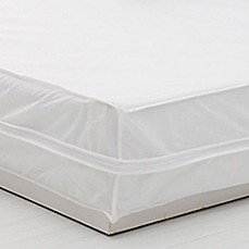 image of Everfresh Basic Bed Protector Set in White