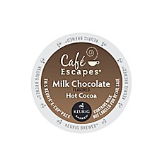 image of Keurig® K-Cup® Pack 16-Count Cafe Escapes® Milk Chocolate Hot Cocoa