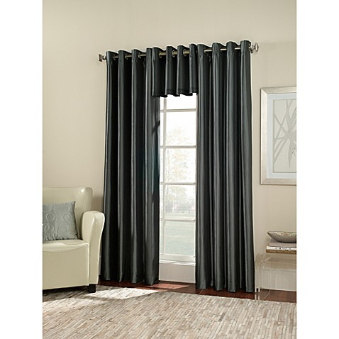 Buy Argentina Room Darkening 54 Inch Grommet Window Curtain Panel In Peacock From Bed Bath Beyond