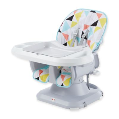 Fisher-Priceu0026reg; SpaceSaver High Chair in White  sc 1 st  Bed Bath u0026 Beyond & fisher price spacesaver high chair   Bed Bath u0026 Beyond
