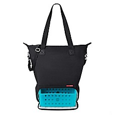 image of SKIP*HOP® Tray Chic Dry & Store Pump Bag in Black