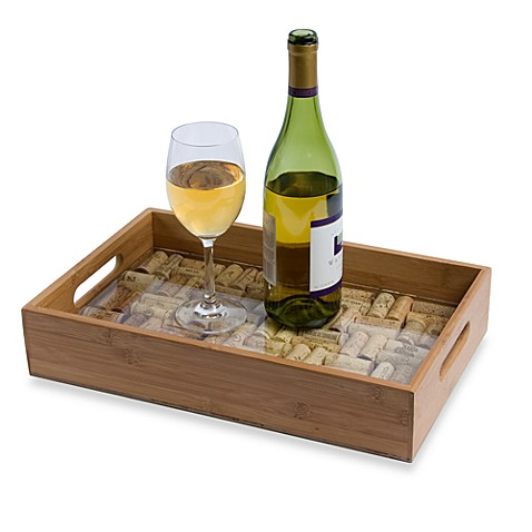Cork Collector Serving Tray Bed Bath Amp Beyond