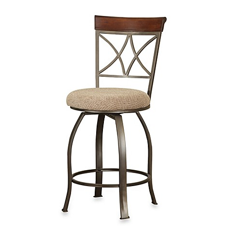Powell Hamilton Swivel Counter Stool Bed Bath Amp Beyond