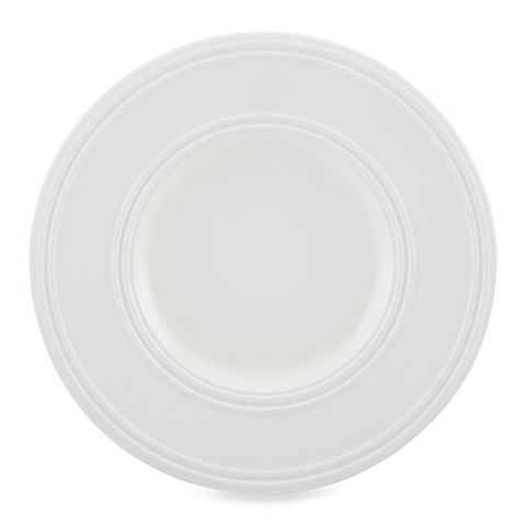 kate spade new york Fair Harbor™ Dessert Plate in White Truffle