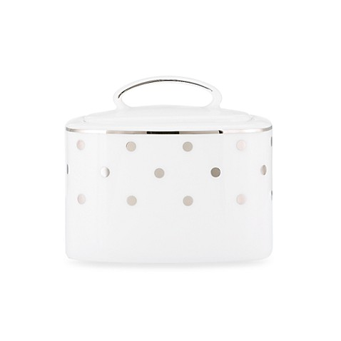 Kate spade new york larabee road platinum covered sugar for Bed bath and beyond kate spade