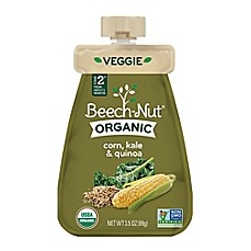 image of Beech-Nut® Organic Stage 2 Corn, Kale, and Quinoa Veggie Purée