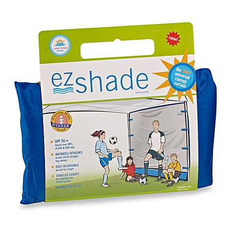 Ezshade Upf 50 Portable Canopy Curtain Bed Bath Beyond
