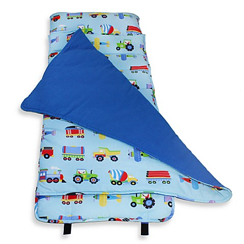 Wildkin Olive Kids Trains, Planes and Trucks Nap Mat