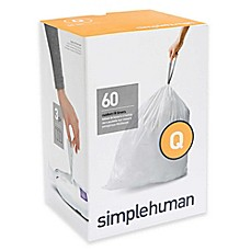 image of simplehuman® Code Q 50-65-Liters Custom Fit Liners