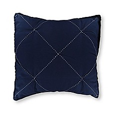 image of Nautica® Lawndale European Pillow Sham in Navy