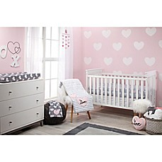 image of Little Love by NoJo® Hugs and Kisses 5-Piece Crib Bedding Set