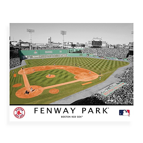 Buy Mlb Boston Red Sox Fenway Park Canvas Wall Art From