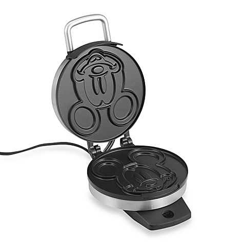 Disney 174 Classic Mickey Mouse Waffle Maker Bed Bath Amp Beyond
