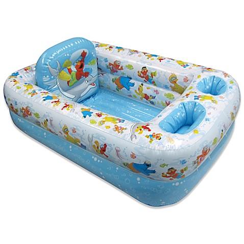 Delightful Ginsey Sesame Street Inflatable Bath Tub