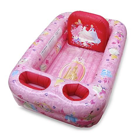 Ginsey Disney 174 Princess Inflatable Bath Tub From Disney