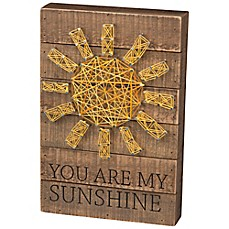 Whats new baby kids products gifts and accessories bed bath image of primitives by kathy you are my sunshine string art prinsesfo Image collections