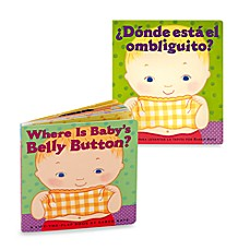 image of Where's Belly Button? Book (English and Spanish Versions)