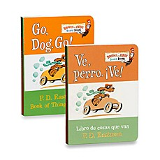 image of Dr. Seuss' Go, Dog, Go! Board Book (English and Spanish Versions)
