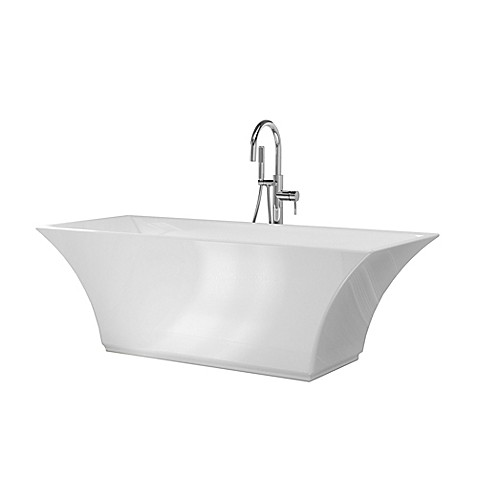 Au0026E Bath And Shower Abzu 67 Inch X 29 1/2 Inch Acrylic