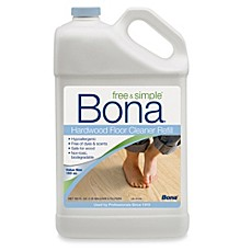 image of Bona® Free & Simple Hardwood Floor Cleaner in 160-Ounce Refill