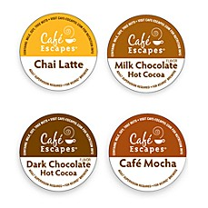 image of K-Cup® Gourmet Single Cup Cafe Escapes Coffee for Keurig® Brewers